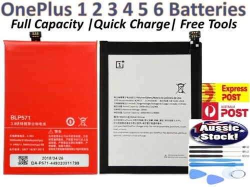 OEM OnePlus Replacements Battery For OnePlus 1 2 3 5 6 Ultra Li-ion + Tools AU