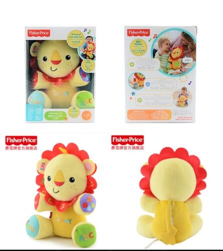 Fisher-Price BILINGUAL English/Mandarin LEARNING LION Fun Musical Soft Baby Doll