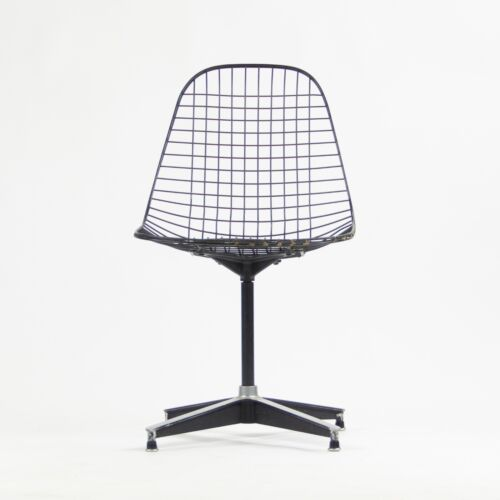 1955 Herman Miller Eames Wire Shell Chair Rare 671 Pedestal Base