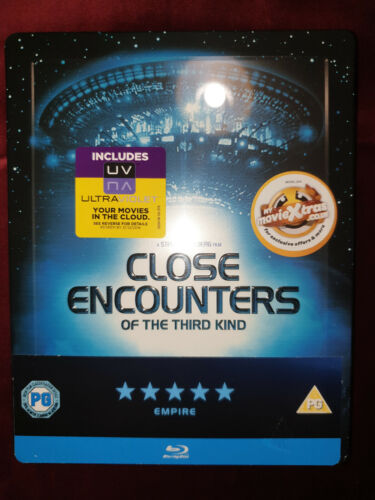 Close Encounters of the Third Kind - Blu-ray Steelbook - NEW & SEALED