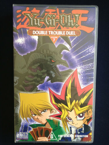 Yu-Gi-Oh! ~ DOUBLE TROUBLE DUEL ~ VOLUME 7 ~ PAL VHS VIDEO