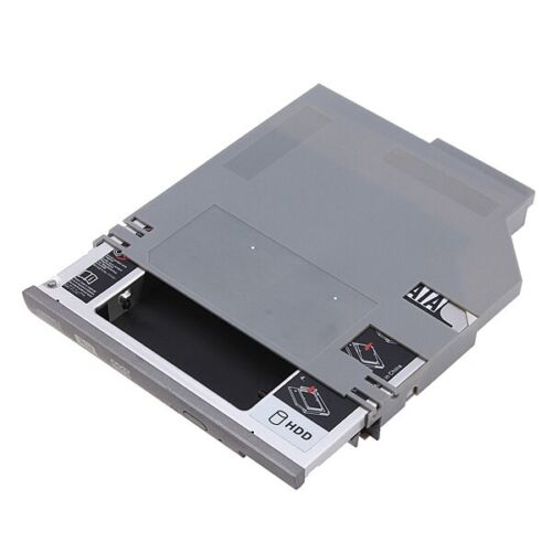 For Dell Latitude D600 D610 D620 D630 SATA 2nd Hard Disk Drive HDD Tray Caddy