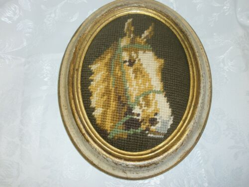 Vintage  Picture Frames With Gobelin Horse ~ HandMade In Italy