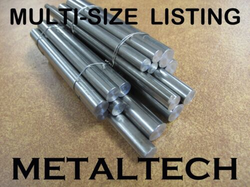 316 Stainless Steel Rod Round Bar. Dia 3.2 to 38 mm, L=100 to 800 mm
