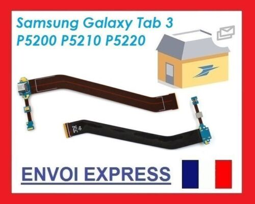 Charging USB Port 3 GT-P5210 10 Gene Samsung Galaxy Mic Cable Tab Replacement
