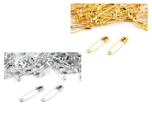 QUALITYAssorted Size Safety Pins Small Medium Large Dressmaking Craft Pin Silver