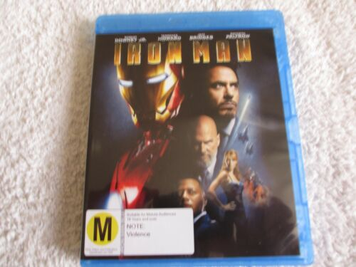 Blu-ray Movie Iron Man Rated M D140