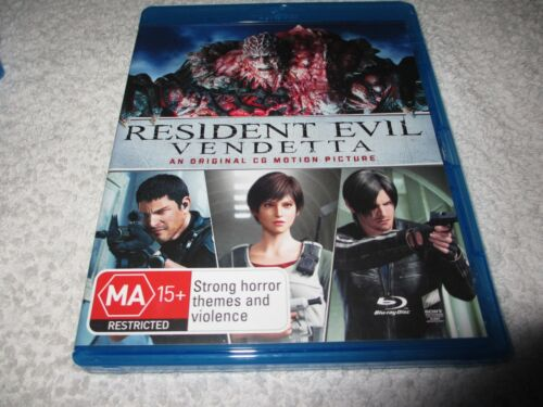 Blu-ray Movie Resident Evil - Vendetta Rated MA15+ D142
