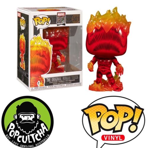 Fantastic Four - Human Torch First Appearance 80th Anniversary Pop! Vinyl Figure