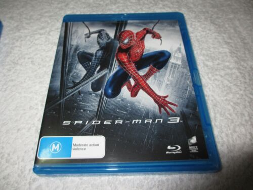 Blu-ray Movie Spiderman 3 Rated M D207