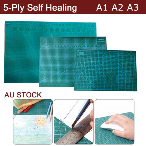A1 A2 A3 Large Thick Self Healing Cutting Mat Double-Side Art Craft DIY Au Stock