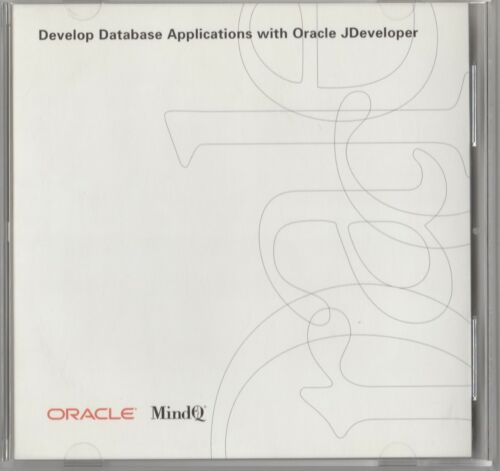 Classic Pc Software - Oracle - MindQ - Develop Database Applications with Oracle