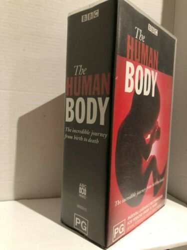 BBC ~ THE HUMAN BODY ~ FROM BIRTH TILL DEATH ~ 394 MINS ~ 2 x AS NEW VHS VIDEO