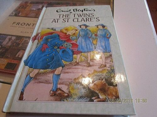 ENID BLYTON. TWINS AT ST CLARE'S. GIRLS SCHOOL STORY. HARDCOVER.