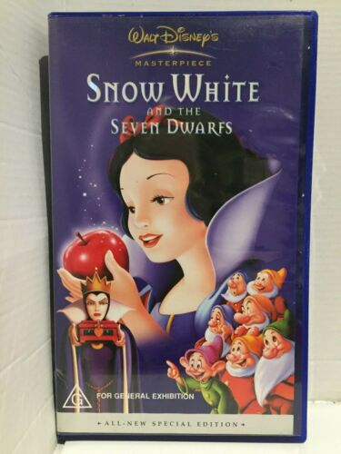 DISNEY ~ SNOW WHITE and the SEVEN DWARFS ~ SPECIAL EDITION ~ VHS VIDEO