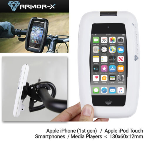 Armor-X ArmorCase Bike Mount MX-143 for iPhone, iPod Touch or Smartphone - White