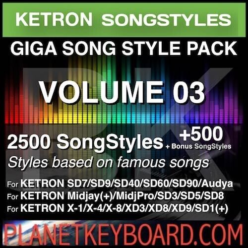 9400 Neue Styles für KETRON SD3 SD5 SD8 PC Style Player als Download TOP!