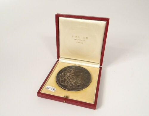 Medal L'Expansion French Silversmith Stevens Solid Silver