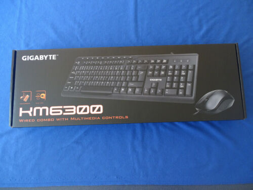 GIGABYTE KM6300 KEYBOARD & MOUSE COMBO WIRED