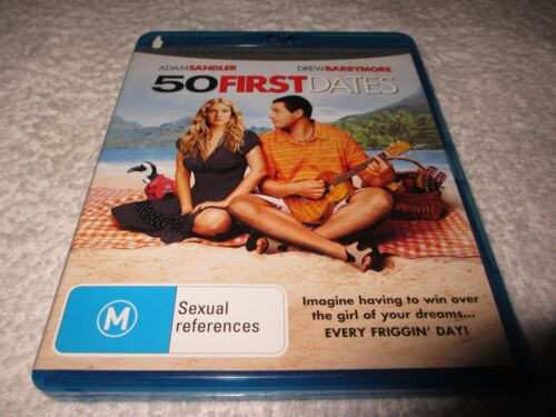Blu-ray Movie 50 First Dates Rated M K63
