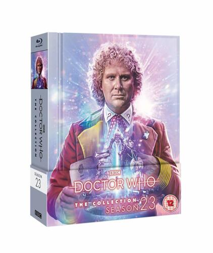 """DOCTOR WHO COLLECTION SERIES 23 LIMITED EDITION BOX SET 6 DISC BLU-RAY RB """"NEW"""""""