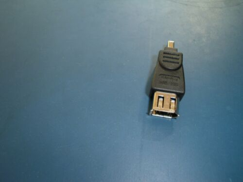 1 x IEEE 1394 Firewire 6-pin Male to 4-Pin Female Gender Changer Converter