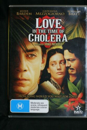 Love In The Time of Cholera - Javier Bardem - R 4  Pre-owned (D507)