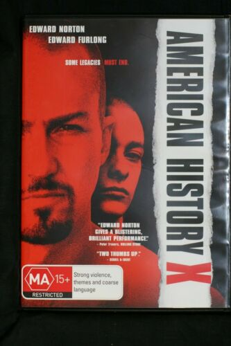 American History X (DVD, 2010) Edward Norton - R4 Pre-owned (D508