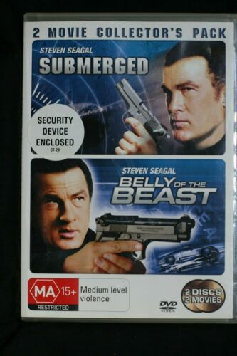 Belly Of The Beast / Submerged (DVD, 2007) Steven Seagal - R4 Pre-owned (D508