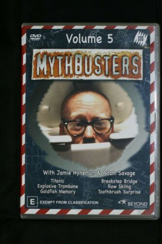 Mythbusters : Vol 5 (DVD, 2005) R 4   Pre-owned (D509