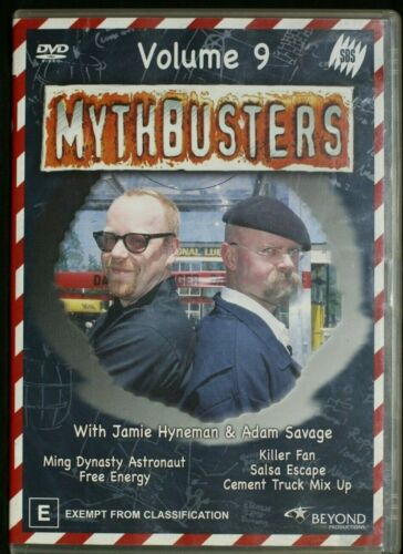 Mythbusters : Vol 9 (DVD, 2005) R 4   Pre-owned (D509