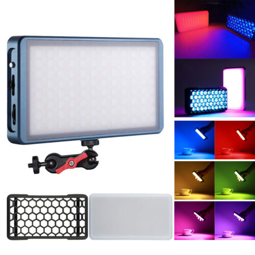 Falcon Eyes F7 12W RGB LED Pocket Light with Honeycomb Grid and Diffuser, CRI 97