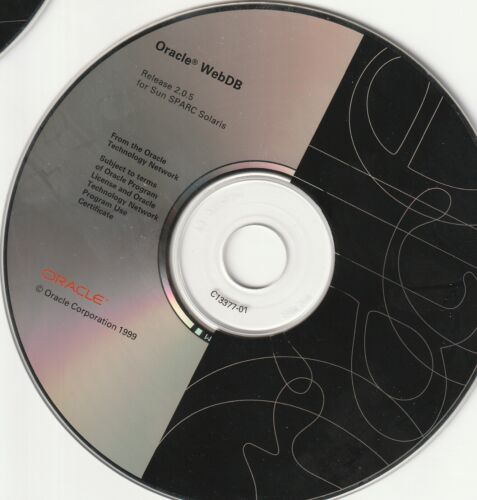 Classic Pc Software - Oracle iDevelop '99 Kit - NT & Solaris Only - (Disks Only)