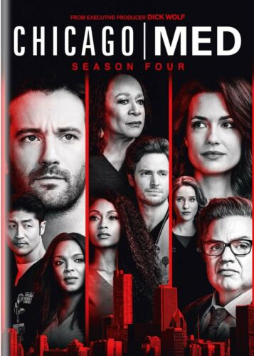Chicago Med TV Series Season 4 DVD Brand New