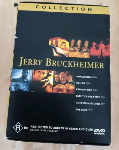 Jerry Bruckheimer Collection - Blu-ray -  Like New Free Postage