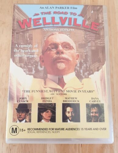 The Road to Wellville (Anthony Hopkins) DVD Like New Free Postage
