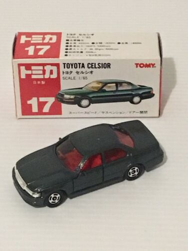 TOMICA NO17 TOYOTA CELSIOR 1/65 SCALE  MADE IN JAPAN
