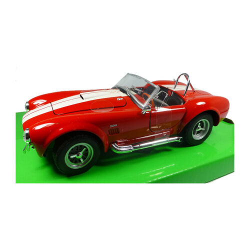 Welly 24002 Shelby Cobra 427 Sc Rouge Maßstab 1:24 Maquette de Voiture Neuf ! °