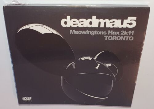 DEADMAU5 MEOWINGTONS HAX LIVE FROM TORONTO BRAND NEW SEALED REGION FREE DVD
