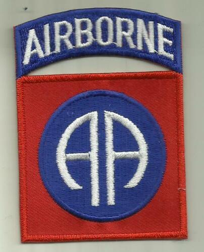 82nd AIRBORNE DIVISION U.S.ARMY PATCH  PARACHUTE ASSAULT INFANTRY SOLDIER USAArmy - 66529