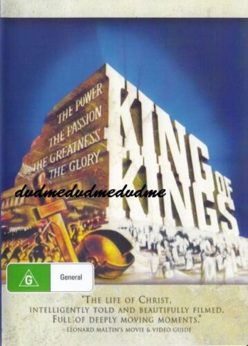 King of Kings DVD New and Sealed Australian Release