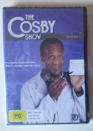 THE COSBY SHOW SEASON 7 dvd NEW SEALED bill cosby REGION 4 comedy SEVENTH SERIES
