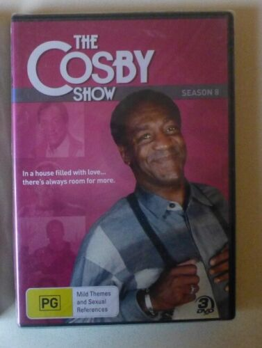 THE COSBY SHOW SEASON 8 dvd NEW SEALED bill cosby REGION 4 comedy EIGHTH SERIES
