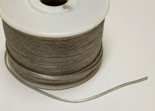 10 ft. Clear SILVER 22/2 Thin Special Purpose Lamp Cord Parallel 2 wire 46621JB