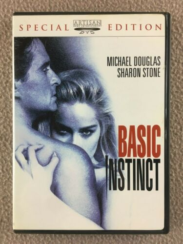 Basic Instinct - Micheal Douglas, Sharon Stone - DVD