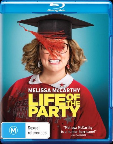 LIFE OF THE PARTY New Blu-Ray MELISSA McCARTHY ***