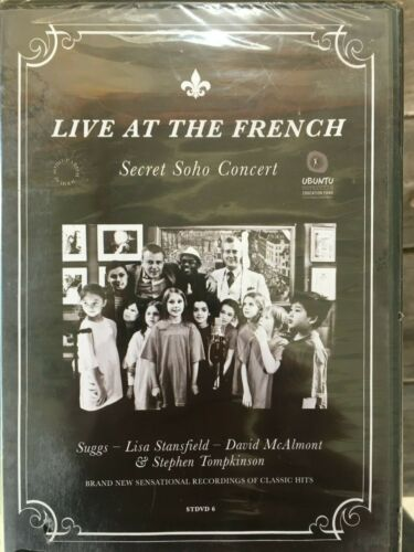 LIVE AT THE FRENCH: Secret Soho Concert - Various (DVD, 2012) NEW