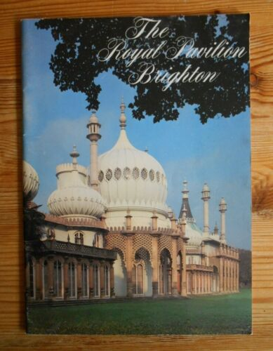 The Royal Pavilion Brighton, softcover catalogue, 1982, 52 pp