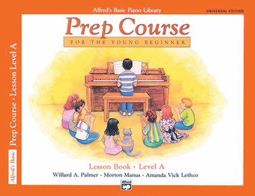 Alfred's Basic Piano Library Prep Course for the Young Beginner Level A 6493 NEW