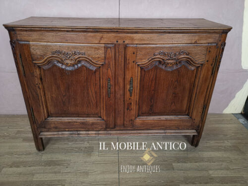 CREDENZA IN MASSELLO INTEGRA E ORIGINALE DI EPOCA 800'